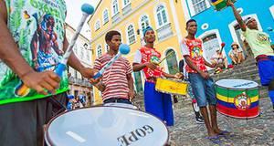 Um dia inteiro na Bahia